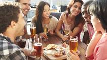 Eating with Friends may Hinder Weight Loss, Study Says