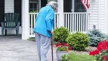 For the Elderly, Physical Therapy can Help Straighten a Hunched Back