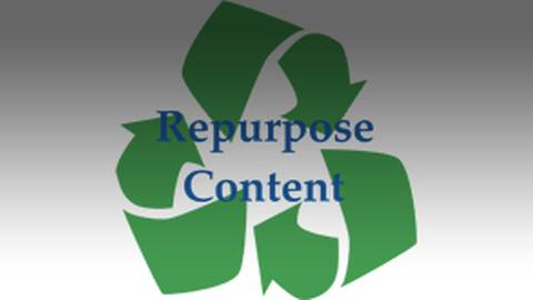 Repurposing Content: Why You Should Recycle Existing Content to Grow Your Practice